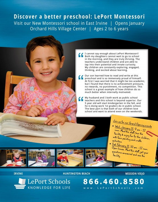 LePort Schools – Better Preschool