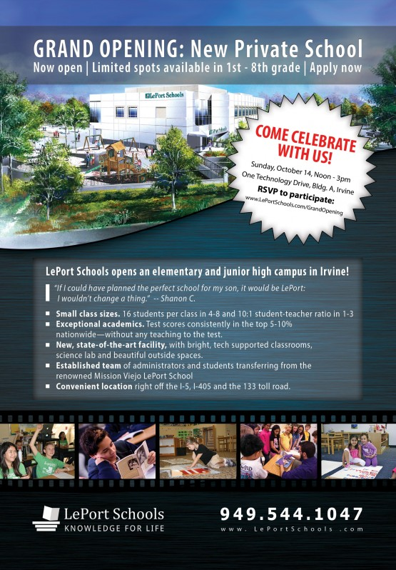 LePort Schools – Grand Opening