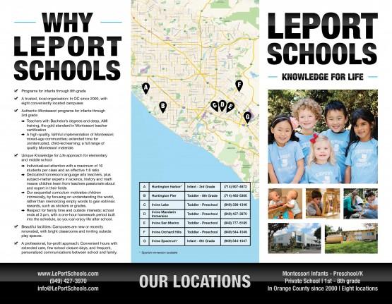 LePort Schools – Brochure