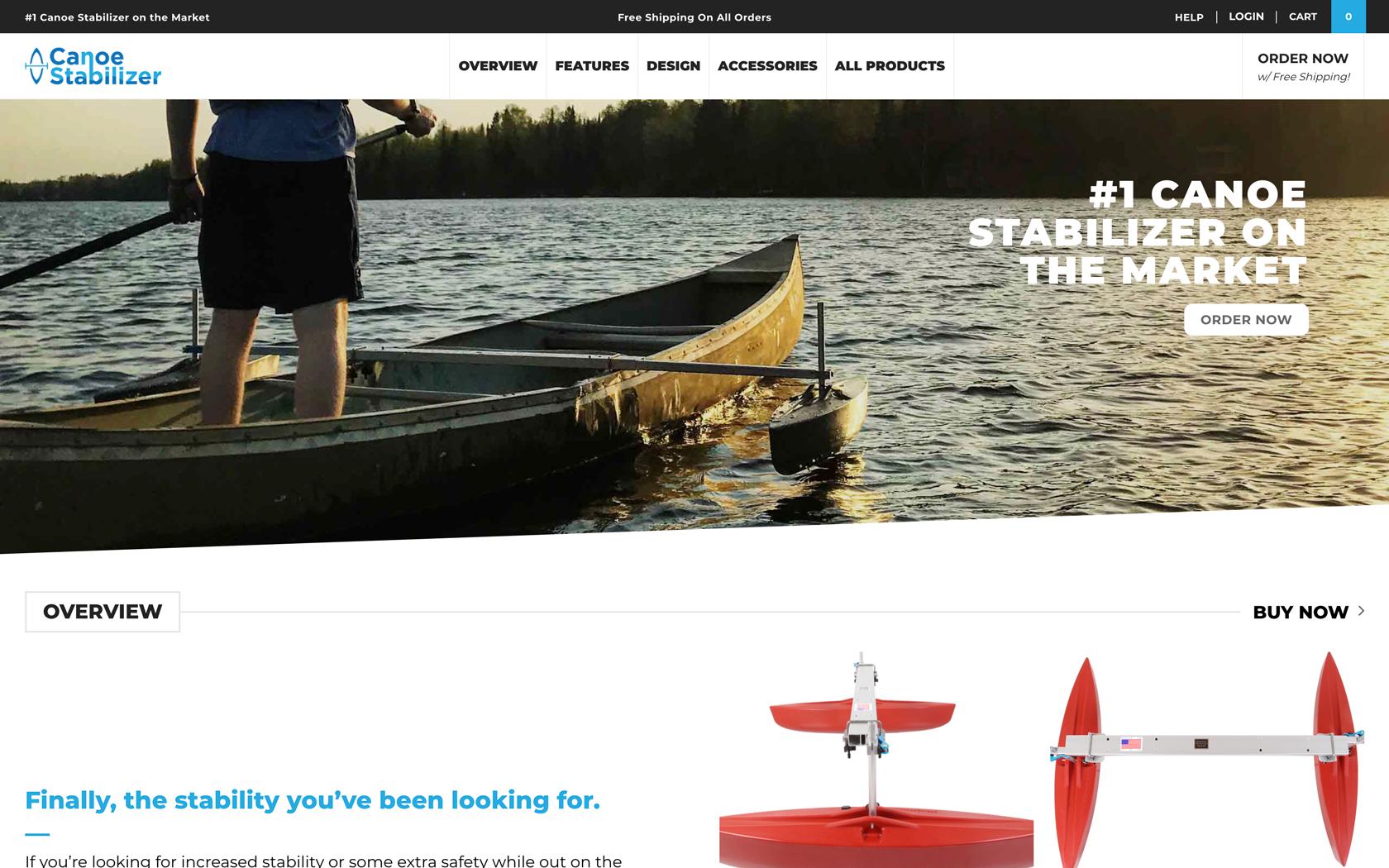 Canoe Stabilizer