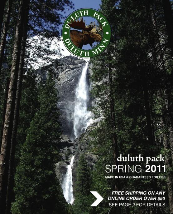 Duluth Pack – Spring 2011 Catalog